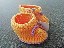 Topánočky - Žlté papučky - 11019329_