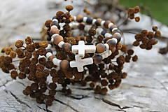 Náramky - Biely Kríž_SET 02 ochranný - 11020800_