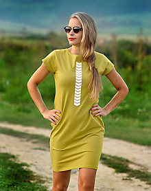 Šaty - Šaty Summer - skladom M - 11019729_