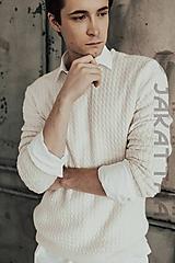 Svetre/Pulóvre - Pánsky sveter - 100% kašmír - 11019902_