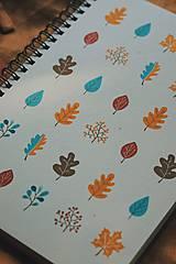Papiernictvo - Jesenné zápisníky - 11020651_