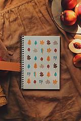 Papiernictvo - Jesenné zápisníky - 11020656_