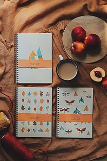 Papiernictvo - Jesenné zápisníky - 11020645_