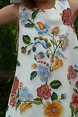 Detské oblečenie - Šatočky Plná výšivka - 11021180_