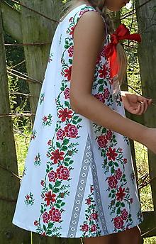 Detské oblečenie - Šatočky Ruže v oblúkoch Z - 11022008_