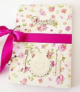 Papiernictvo - Receptár s kvetmi - 11021267_