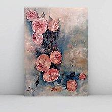 Obrazy - Vintage roses 2 - 11022752_