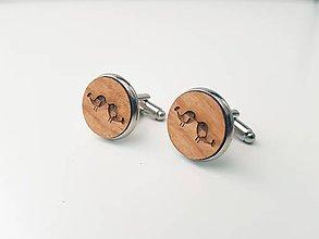 Šperky - Manžetové gombíky - vtáčiky - 11021970_