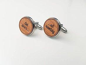 Šperky - Manžetové gombíky - Od dnes už navždy - 11022024_