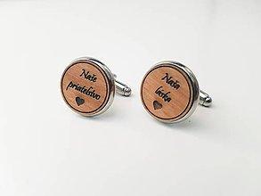 Šperky - Manžetové gombíky - Naše priateľstvo, naša láska - 11022042_
