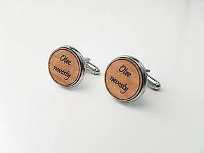 Šperky - Manžetové gombíky - Otec nevesty - 11022086_