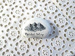Drobnosti - Maľovaný kameň - Vysoké Tatry - 11023033_