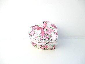 Krabičky - Krabička od srdiečka - 11023051_
