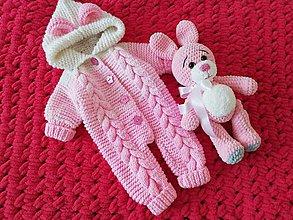 Detské oblečenie - overal pre bábätko - 11022608_