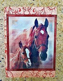 """Papiernictvo - Zápisník """"kôň so žriebätkom"""" - 11022224_"""