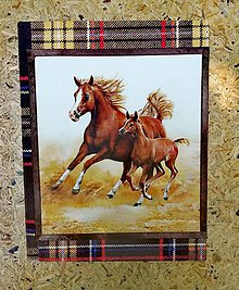 """Papiernictvo - Zápisník """"bežiaci kôň so žriebätkom"""" - 11022399_"""