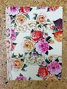 """Papiernictvo - Zápisník """"ruže"""" - 11022522_"""