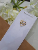 Iné tašky - Svadobná taška na víno biela - 11022229_