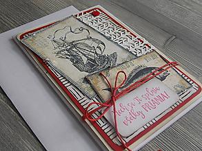 """Papiernictvo - ...pohľadnica blahoprajná...""""Morský príbeh""""... - 11021311_"""