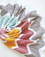 Textil - Dúhová deka - 100% egyptská bavlna - 11021387_