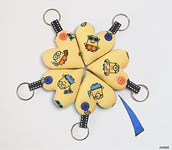 Kľúčenky - Prívesky pre detičky - s Mimoňom - 11023083_