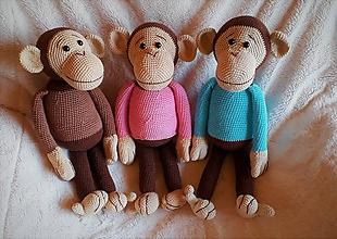 Hračky - Opička si hľadá kamarátku - 11022512_