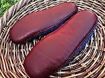 Obuv - Pánske vlnené plstené papuče - 11021788_