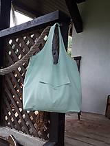 Ľanová taška na nákupy