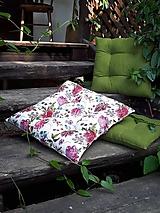 Úžitkový textil - Podsedák Romantic Flowers - 11022370_