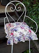Úžitkový textil - Podsedák Madame Bovary - 11022378_