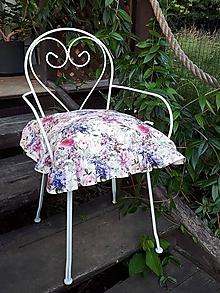 Úžitkový textil - Podsedák Madame Bovary - 11022379_
