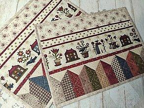Úžitkový textil - Buttermilk Blossoms ... prestieranie 2 ks - 11024657_