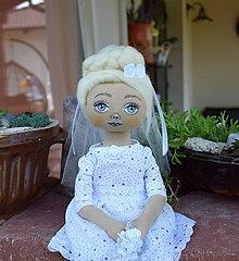 Bábiky - Nevesta...bábika - 11024522_