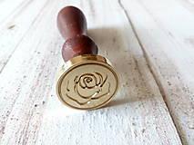 Pomôcky/Nástroje - Pečatidlo v tvare ruže - 11023999_