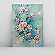Obrazy - Vintage roses - 11023466_