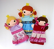 Hračky - Maňuška princezná (na objednávku) - 11023499_