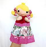 Hračky - Maňuška princezná (na objednávku) - 11023501_