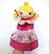 Hračky - Maňuška princezná (na objednávku) - 11023505_