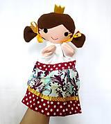 Hračky - Maňuška princezná (na objednávku) - 11023507_