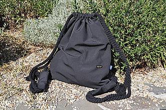 Batohy - Pánsky vak dAdKa - čierny (čierno - čierna) - 11025738_