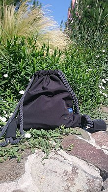 Batohy - Pánsky vak dAdKa - čierny (čierna - antracit) - 11025752_