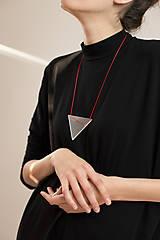 Náhrdelníky - pure// triangle// - 11023390_
