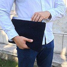 Na notebook - Obal na notebook tmavomodrý - 11023571_