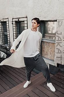 Svetre/Pulóvre - elegantný biely sveter - 100% kašmír - 11023916_