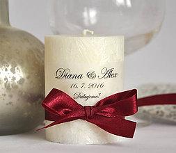 Darčeky pre svadobčanov - Ostatné vzory - darček alebo menovka - 11027558_