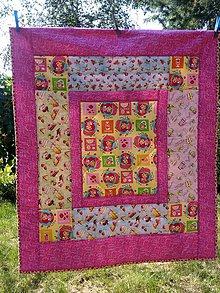 Úžitkový textil - Jahodová alebo malinová - 11026774_