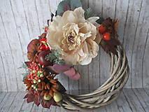 Dekorácie - Jesenný venček - 11026665_