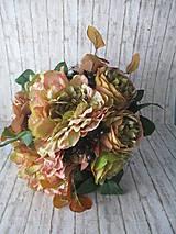 Dekorácie - Jesenná kytica Vintage - 11026698_
