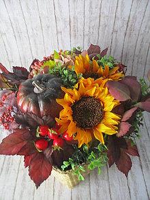 Dekorácie - Jesenná dekorácia - 11026732_