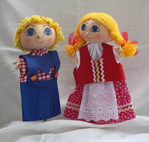 Maňuška. Bábiky Janko a Marienka.